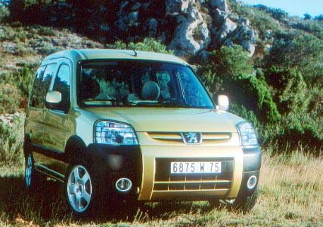 Automag Peugeot Partner 2003 Les Versions Quot Tout Chemin