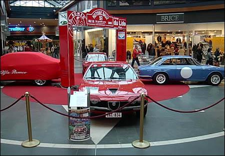 Automag en octobre 2005 le historic rally mons for Garage alfa romeo paris