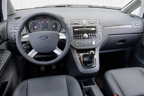 Automag ford focus c max 1 6 tdci le monovolume for Interieur ford c max