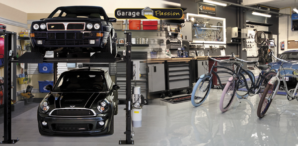 Automag garage passion concept stores invitation for Garage auto quad passion