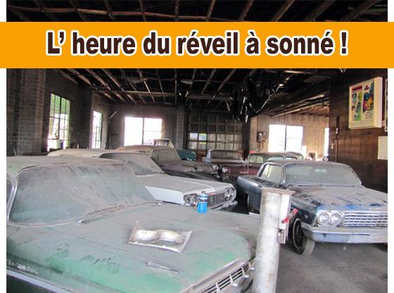 Automag les portes d un garage s ouvrent sur des auto for Garage sortie de grange quesnoy sur deule