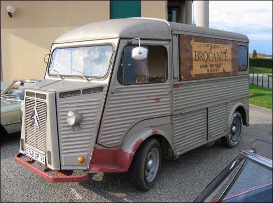 Camion de Louis La Brocante