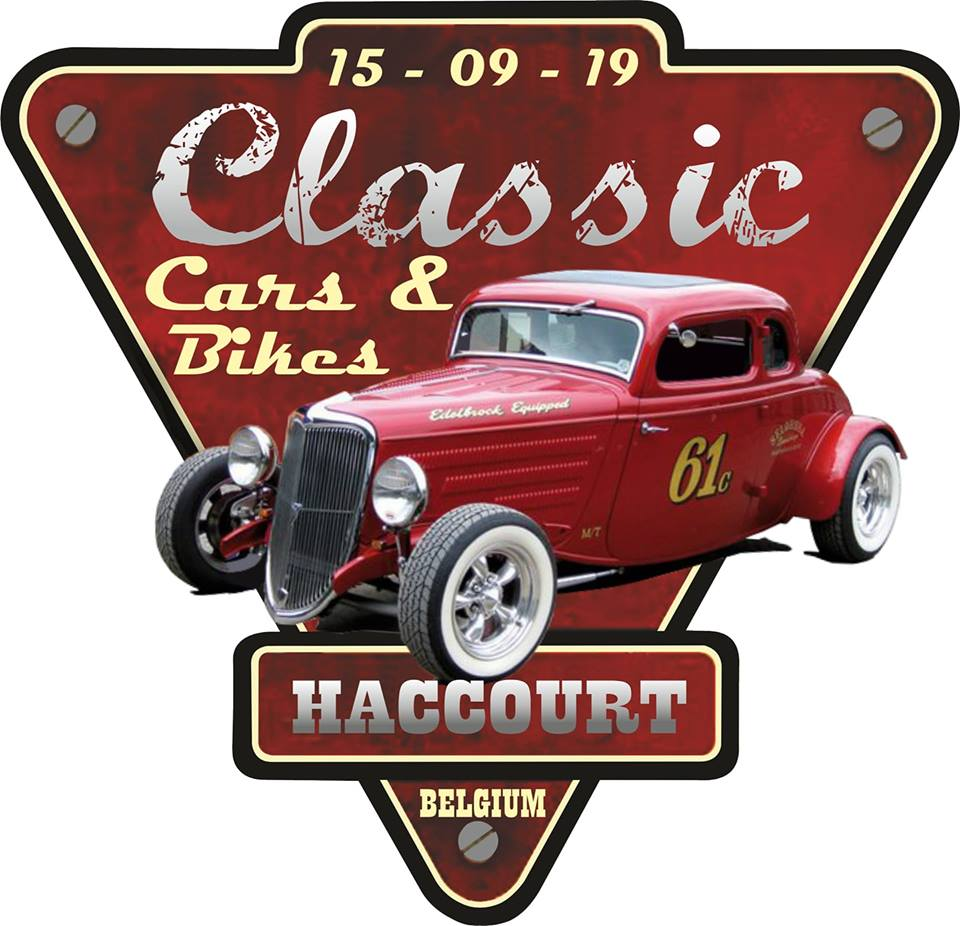 affiche deClassic cars and bikes Haccourt